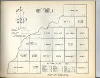 Index Map, Burnett County 1948